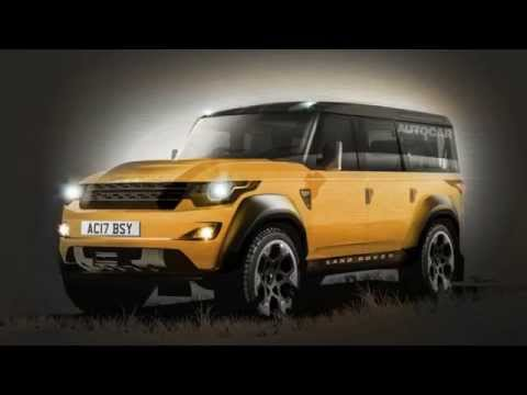 The Land Rover Defender Replacement: What do we know?