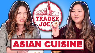 Asian People Taste Test Trader Joe's Asian Food