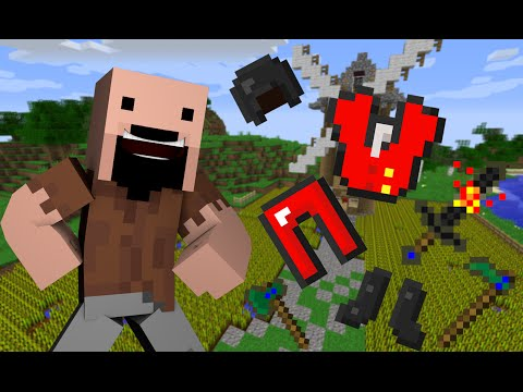 If Notch Armor & Tools Existed - Minecraft
