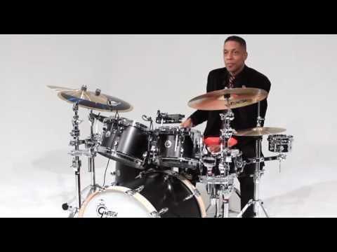 красивая игра на барабанах