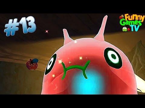 Веселый игровой мультик про ферму слизи развивающее видео для детей продолжаем играть Slime Rancher