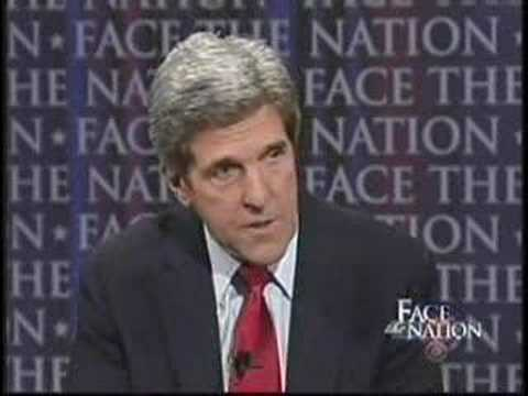 John Kerry calls American troops terrorists