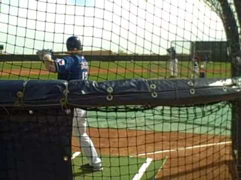 Justin Smoak vs. Neftali Feliz BP video