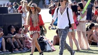 Vanessa Hudgens And Austin Butler (2014) - At The Coachella Music Festival
