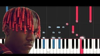 Quality Control,Quavo, Lil Yachty - Ice Tray (Piano Tutorial)