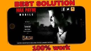 How to download Max Payne free in mobile ( Android.) | 100% work