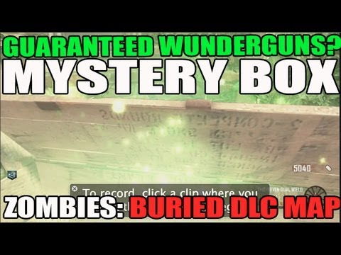 Guaranteed WunderGuns from Mystery Box? Perminent Perk for Mystery Box Luck? Buried Zombie DLC
