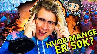 HVOR MANGE ER 50K? - Ultimate Epic Battle Simulator