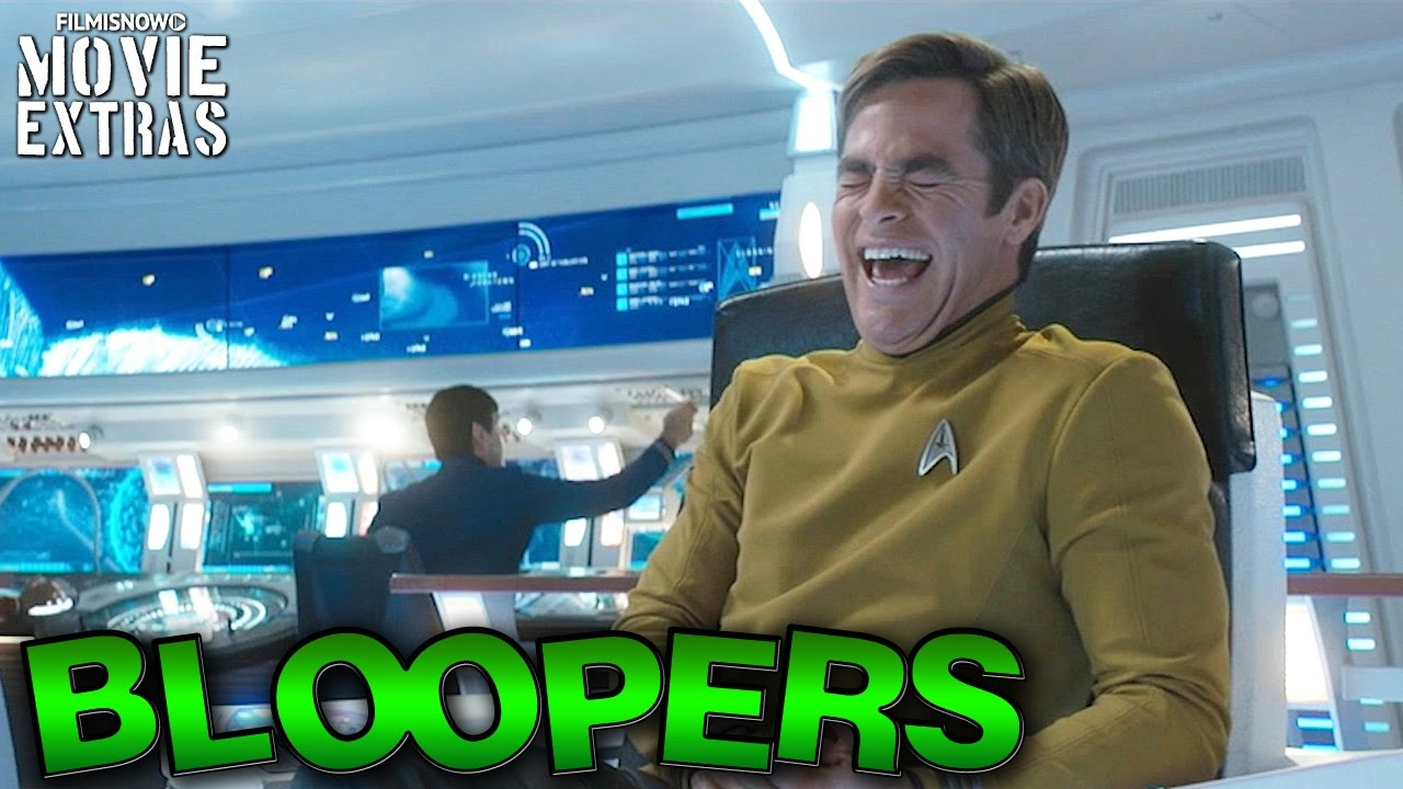 Star Trek Beyond Bloopers & Gag Reel [Blu-Ray/DVD 2016]