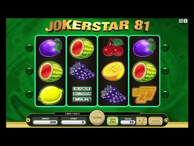 JokerStar81 Free Play