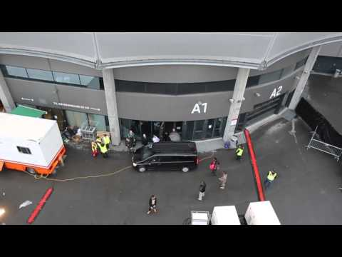 Justin Bieber Mania Oslo 16.04.2013 (Backstage Drone Footage)