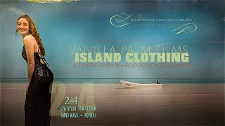 Vanilla Palm Films Island Clothing - Black Evening Gown - Model/Singer-Songwriter Brooke Michelle...