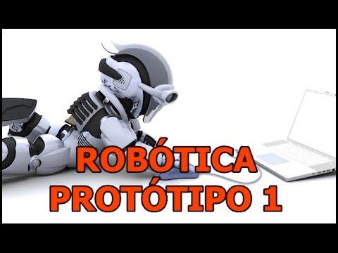 ROBÓTICA - Protótipo De Um Robô Educador!