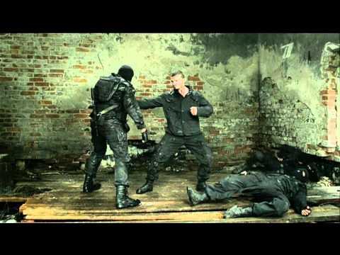 Кремень 4 серия. Бой против спецназа Fight scene