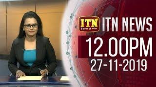ITN News 2019-11-27 | 12.00