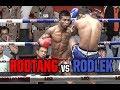 Muay Thai - Rodtang vs Rodlek (รถถัง vs รถเหล็ก), Rajadamnern Stadium, Bangkok, 23.5.18.