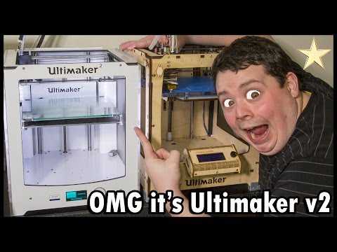 Ultimaker 2 Unboxing, Review & Lot's of Drooling : My Favorite 3D Printer