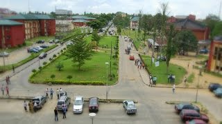 Calabar, Canaan City in Nigeria, cross river state, electricity mast