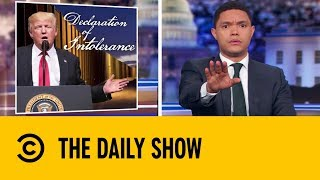 Donald Trump's State of National Emergency | The Daily Show With Trevor Noah