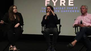 FYRE The Greatest Party That Never Happened Q&A Clip