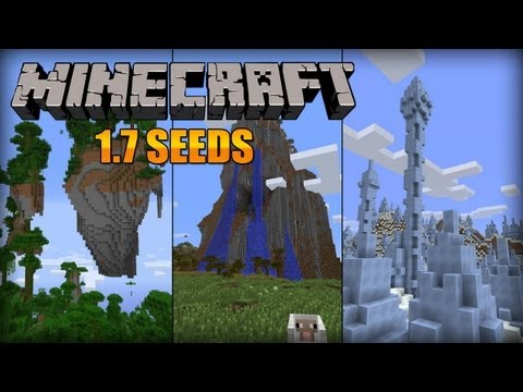 Minecraft 1.7 EPIC SEEDS (Avatar Seed?!)