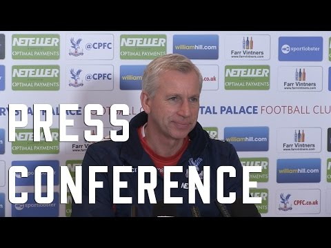 Alan Pardew pre Southampton Press Conference