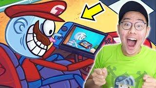LAH KOK JADI ADA MARIO BROS DI TROLLFACE !?! - TROLLFACE QUEST VIDEO GAMES 2 #2