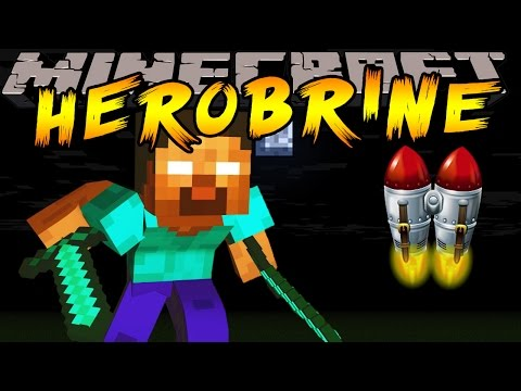 Minecraft - LEARN HEROBRINE'S SPECIAL POWERS