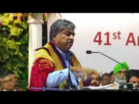 IIM Bangalore 2016 Annual Convocation - Address by Mr Nandan Nilekani