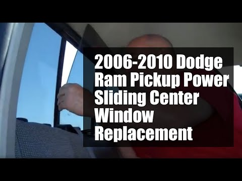DODGE RAM PICKUP POWER SLIDER 2005-2010 WINDOW REPLACEMENT
