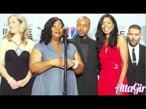 ABC's Scandal Cast talks Kerry Washington Backstage at the NAACP Image Awards 2013