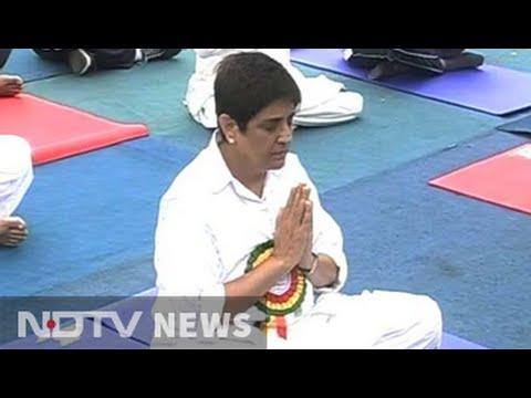 Puducherry cabinet skips governor Kiran Bedi's yoga day session