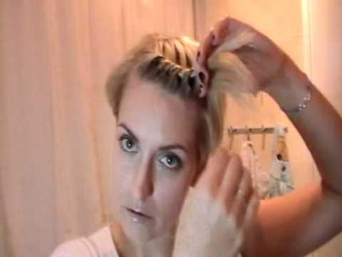 Как плести косу вокруг головы — смотреть онлайн видео