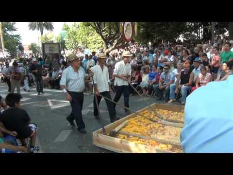 Freguesia de Refoios do Lima no cortejo das Feiras Novas 2012