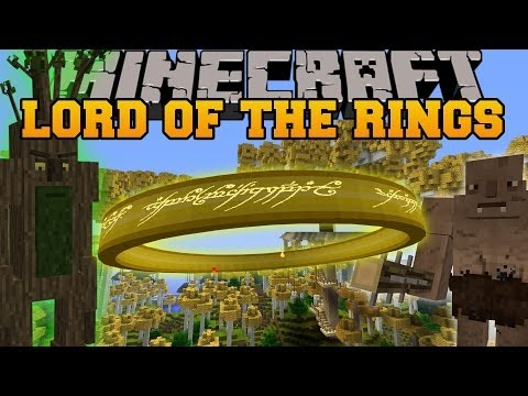 Minecraft: LORD OF THE RINGS MOD (BECOME GOOD OR EVIL, CHOOSE YOUR DESTINY!) Mod Showcase