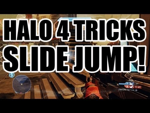 Halo 4 Tricks - Adrift Slide Jump!
