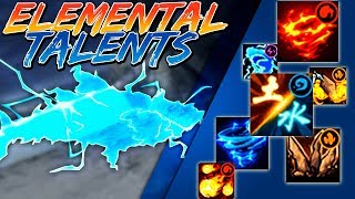 List of All Elemental Talents of Main Characters | Naruto Online