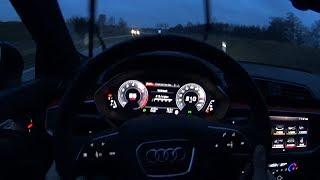 2019 Audi Q3 45 TFSI quattro S tronic | 0-200km/h - Launch control-Autobahn POV