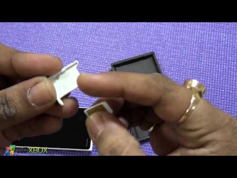 Lumia 920 How to insert Micro Sim