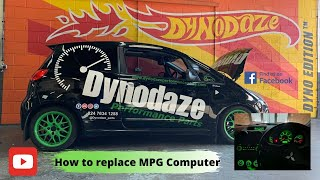 How to Replace broken MPG computer Mitsubishi Colt CZT