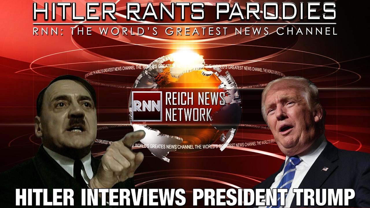 Hitler interviews...