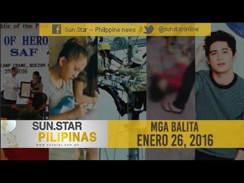Sun.Star Pilipinas January 26, 2016