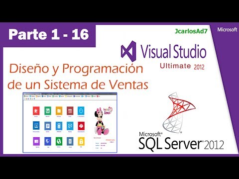 Sistema de Ventas en Visual Studio 2010 y SqlServer 2008 (1-16) - Base de Datos