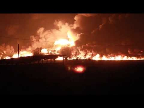 Chemical train derails and explodes - Wetteren, Belgium (Original Post)