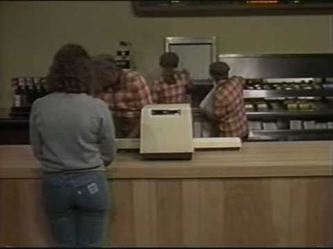 1986 Hardee's Restaurant Training Video - 1/3