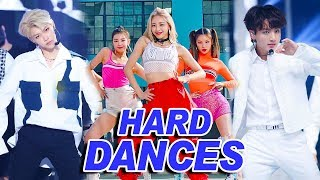 THE HARDEST KPOP DANCES OF 2019