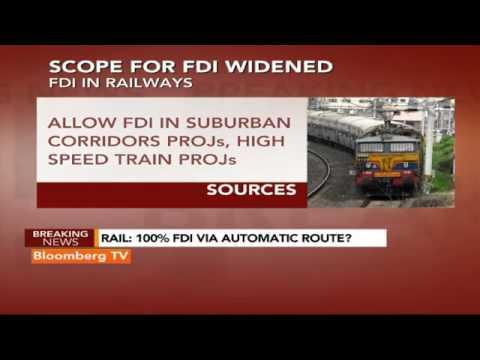 Market Pulse: Rail: 100% FDI Via Automatic Route?