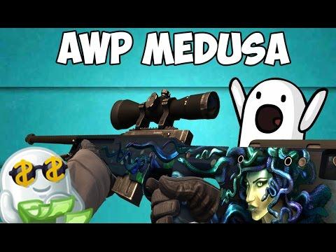 КРАФТ AWP MEDUSA + M4A1-S СYREX FN!! ( +40.000 - 60.000р )
