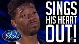 EMOTIONAL PERFORMANCE On American Idol 2018 By Marcio Donaldson | Idols Global