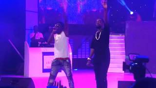 Sarkodie and Shatta Wale perform Dancehall Commando at the 2015 Ghana meets Naija